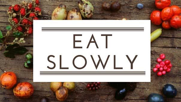imparare a mangiare lentamente